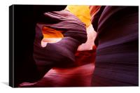 Guardian Angel, Antelope Slot Canyon, Arizona, Canvas Print