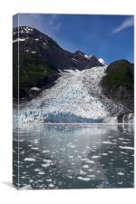 Glacier, Prince William Sound, Canvas Print