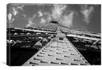 Eifel sky, Canvas Print