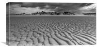Instow beach, Canvas Print