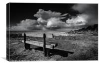 Storm over Lundy Island, Canvas Print