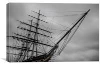 Cutty Sark, Greenwich London U.K, Canvas Print