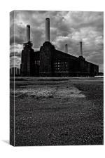 Battersea Power Station London, Canvas Print