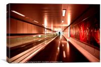 Airport, Canvas Print