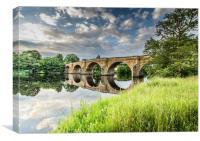 Chesters Bridge, Canvas Print