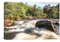 Falls of Dochart, Killin, Stirlingshire, Scotland, Canvas Print