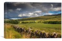 Glen Lochay Scotland, Canvas Print