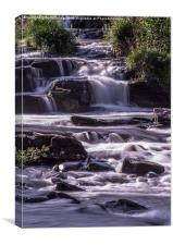 Cascading Waterfalls, Canvas Print