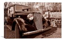 Old Car, Canvas Print