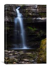 Summerhill Force Upper Teesdale, Canvas Print