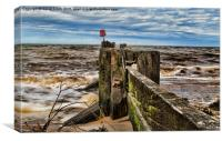 Incoming Tide, Canvas Print