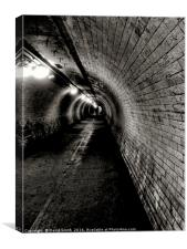 Under The Thames, Canvas Print