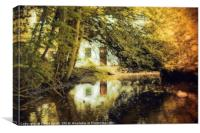 House In The Woods, Canvas Print