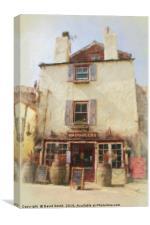 Smugglers Inn, Canvas Print