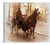 Romantic  Brugge, Canvas Print