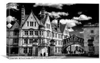Oxford Architecture, Canvas Print
