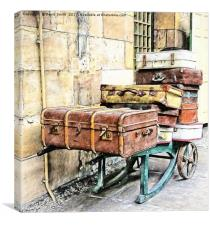 Lost Luggage, Canvas Print