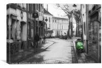 Brugge, Canvas Print