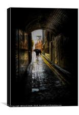 Eastend In The Rain, Canvas Print