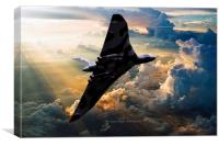 2015 The Last Flight of XH558, Canvas Print