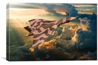 2015 The Last Tour of XH558, Canvas Print
