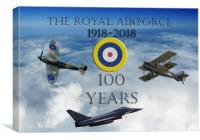 A 100 years , Canvas Print