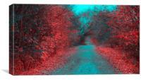 Autumn Hues, Canvas Print