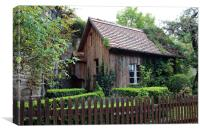 Ye Old Garden Shed, Canvas Print