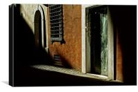 Morning light in Rome, Canvas Print