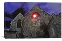Ghost Lantern, Canvas Print