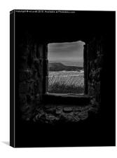 Little Window, Canvas Print