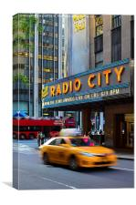 Radio City, NYC, Canvas Print