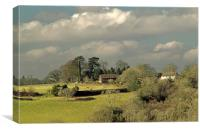 Highbrook Farm, Canvas Print