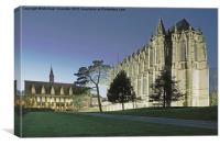 Lancing College Chapel, Lancing, Sussex., Canvas Print