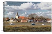 Bosham Village, Chichester Harbour, Sussex, Canvas Print