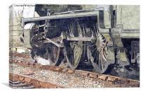 Bluebell Railway, Canvas Print