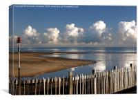 Rye Harbour Approaches, Canvas Print