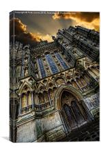Dynamic Wells Cathedral, Canvas Print