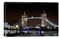 Tower Bridge , Canvas Print