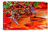 Colorful autumn leaves , Canvas Print