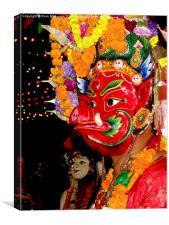 Nepali Culture, Canvas Print
