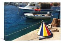 Symi Greece, Canvas Print