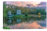 Autumn park, Canvas Print