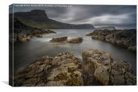 Scottish coastline, Isle of Skye, Canvas Print