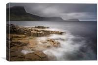 Scottish seascape, Canvas Print