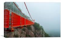 Adventure Gureum Bridge, Canvas Print