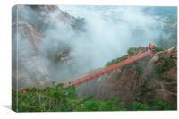 adventure Bridge, Canvas Print