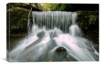 Waterfall of Nature, Canvas Print