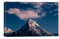Mount Annapurna, Canvas Print