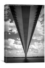 Under The Humber, Canvas Print